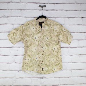 Woolrich Short Sleeve Button Down Shirt Size Large